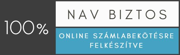 Online számla bejelentésre felkészítve